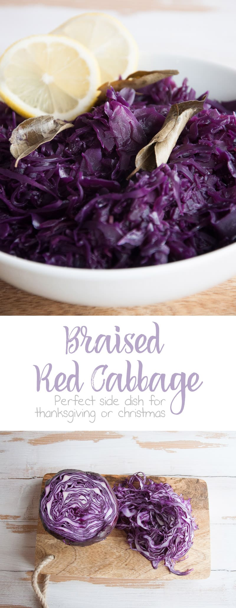 Braised Red Cabbage | ElephantasticVegan.com