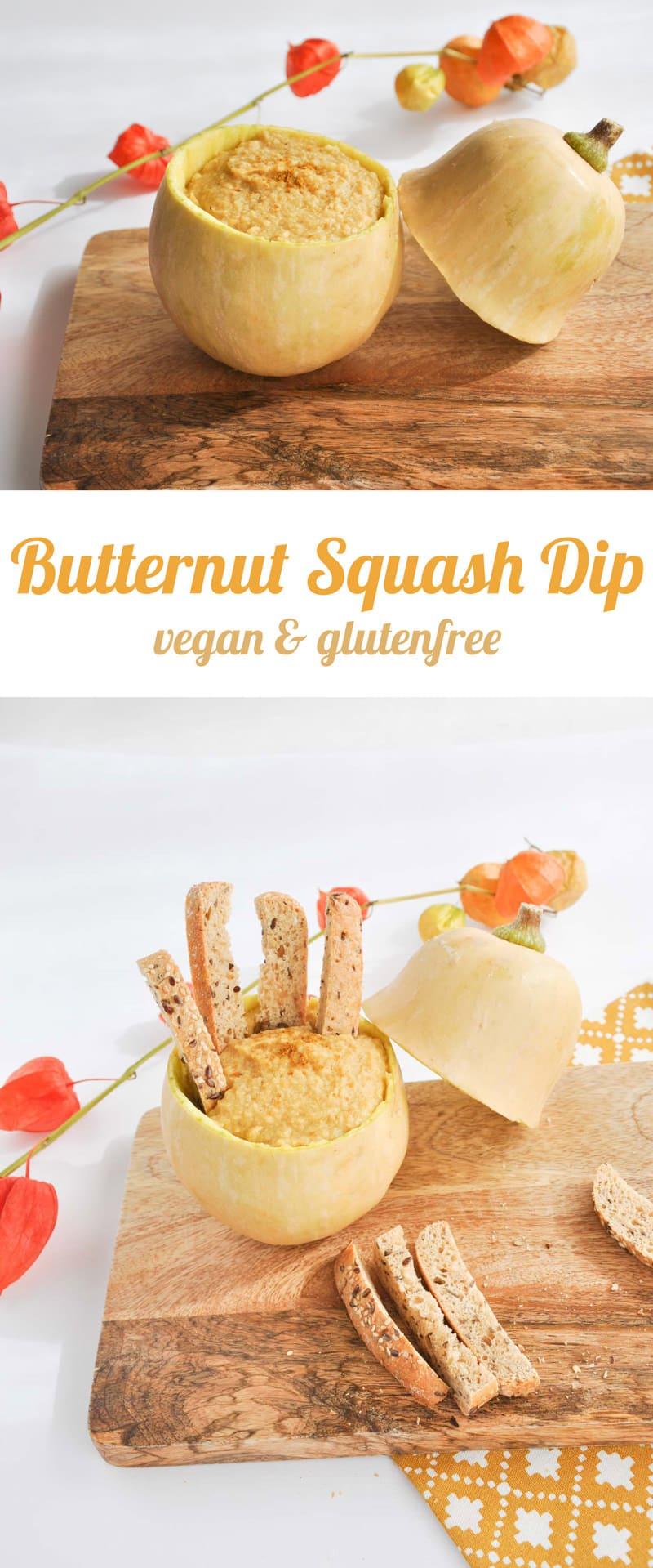 Vegan Butternut Squash Dip | ElephantasticVegan.com