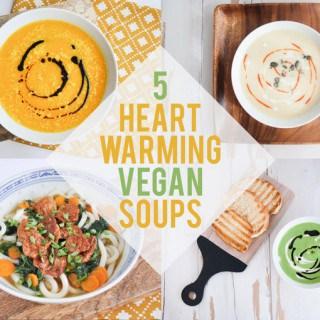 5 Heart-Warming Vegan Soups