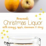 Homemade Christmas Liquor | ElephantasticVegan.com