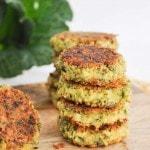 Vegan & Gluten-free Green Falafel