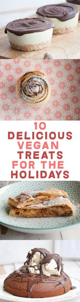 10 Delicious Vegan Treats for the Holidays | ElephantasticVegan.com
