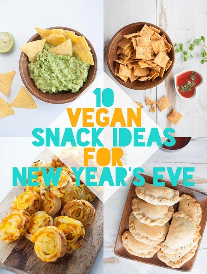 10 Vegan Snack Ideas for New Year's Eve