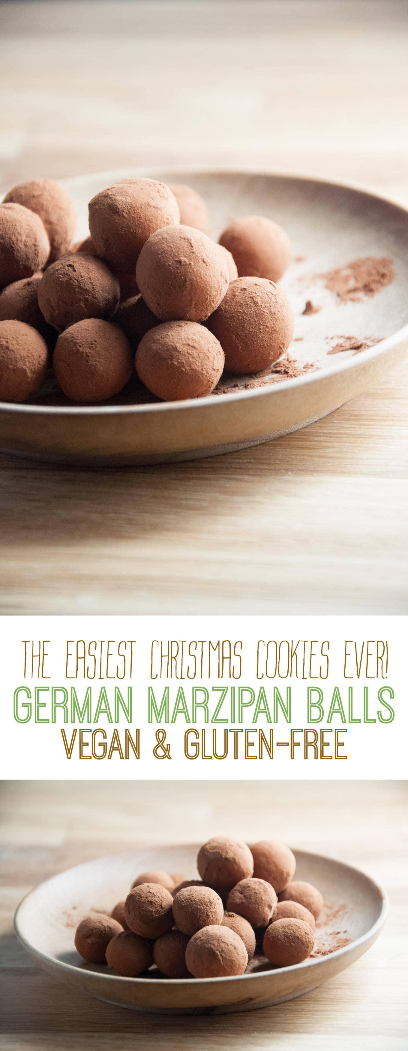 German Marzipan Balls | ElephantasticVegan.com