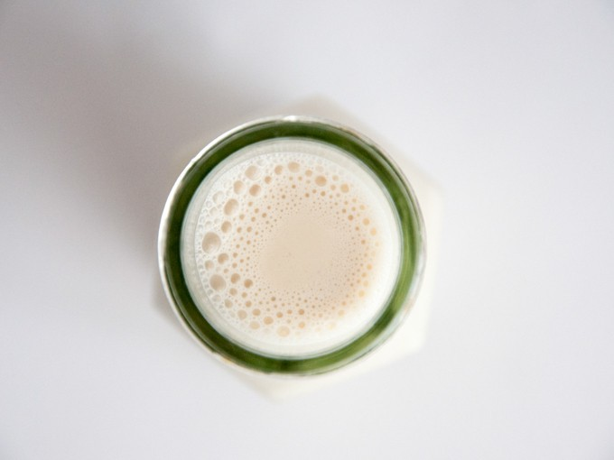 Date-Sweetened Hazelnut Milk | ElephantasticVegan.com