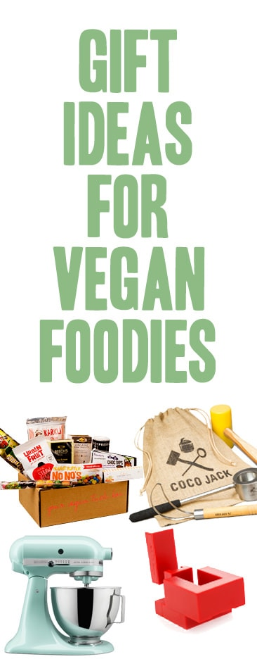 Gift Ideas for Vegan Foodies #veginners #gifts #presents
