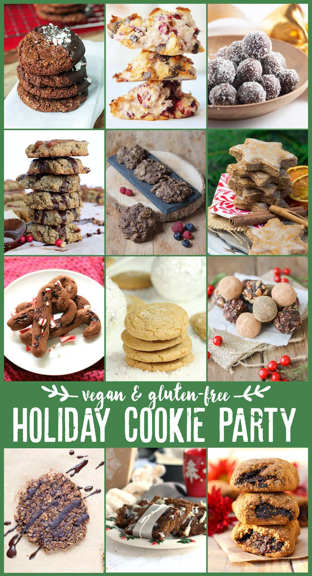 vegan & gluten-free Holiday Cookie Party