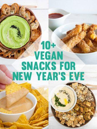 Vegan Snacks for New Year's Eve
