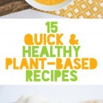 15 Quick and Healthy Plant-Based Recipes | ElephantasticVegan.com