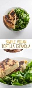 Simple Vegan Tortilla Espanola | ElephantasticVegan.com