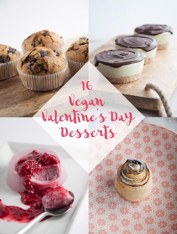 16 Vegan Valentine's Day Desserts