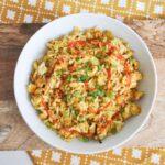 Vegan Egg and Veggie Stir-Fry | ElephantasticVegan.com