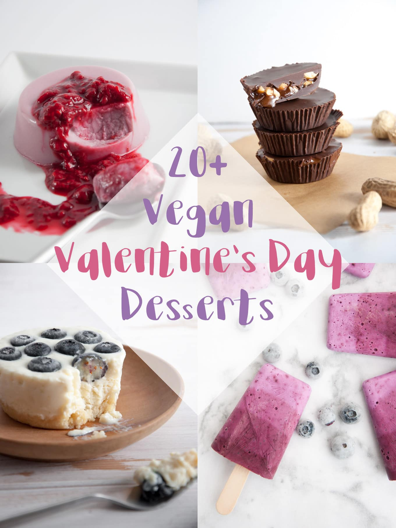 20 Vegan Valentine S Day Dessert Recipes Elephantastic Vegan