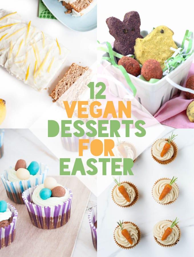 12 Vegan Easter Desserts