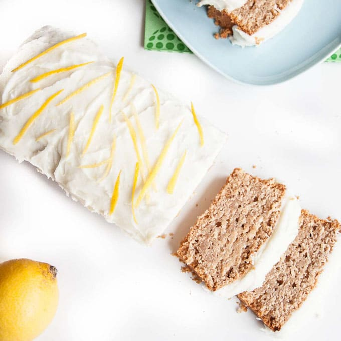 Vegan Lemon Loaf Cake by Vegan Family Recipes