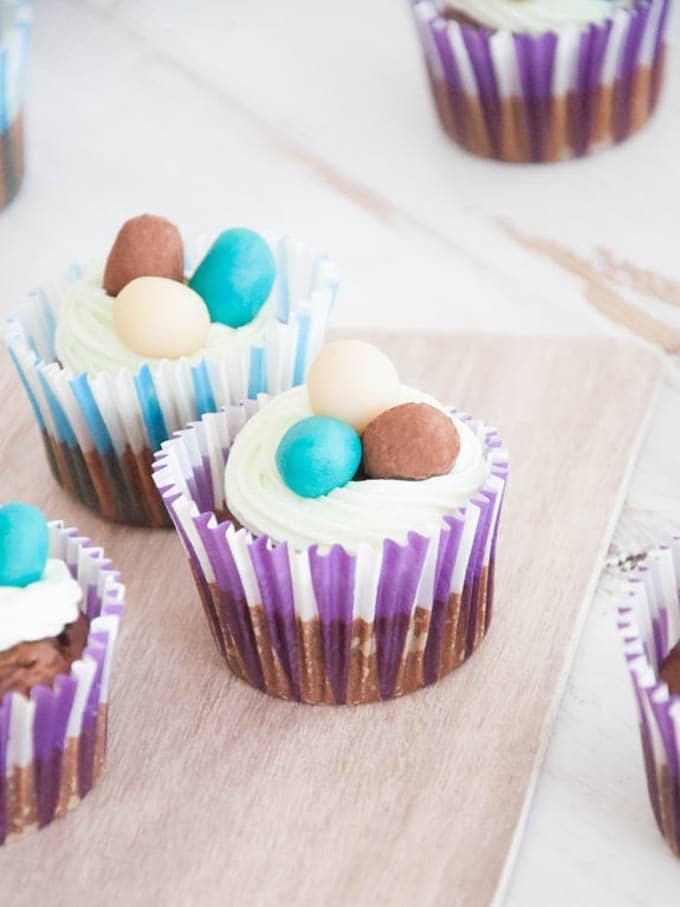 Easter Cupcakes by Elephantastic Vegan