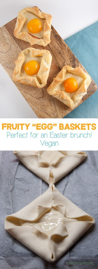 Fruity Egg Baskets vegan | ElephantasticVegan.com