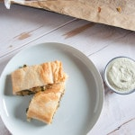 Vegan Potato & Spinach Strudel | ElephantasticVegan.com