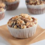 Vegan Blueberry Lemon Streusel Muffins | ElephantasticVegan.com