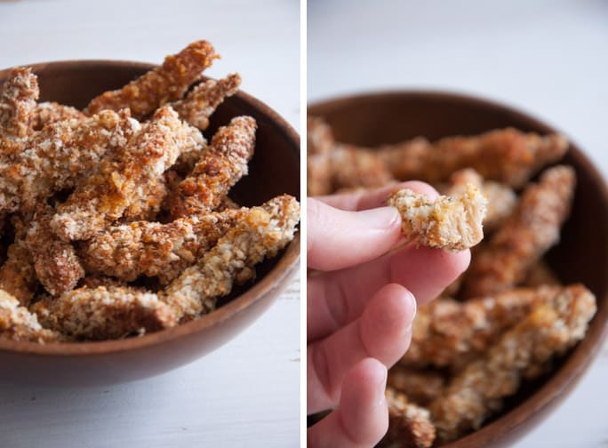 Vegan Chicken Strips | Elephantasticvegan.com