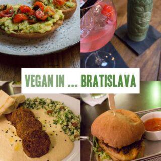 Vegan in Bratislava, Slovakia