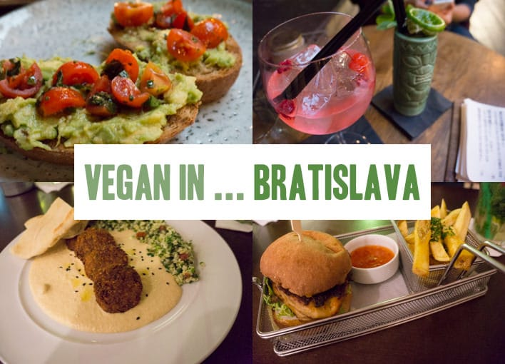 Vegan in Bratislava, Slovakia | ElephantasticVegan.com