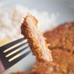 Veganes Schnitzel aus Sojamedaillons