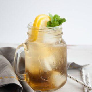 Double Mint Iced Tea