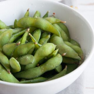 Basic Edamame – Healthy Vegan Snack