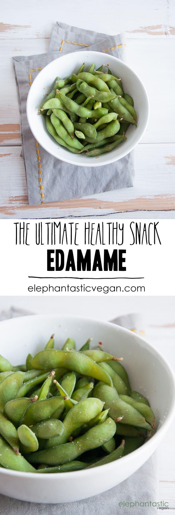 Basic Edamame   ElephantasticVegan.com
