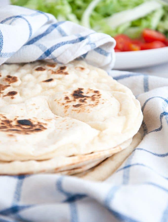 Thick Fluffy Tortillas from scratch |ElephantasticVegan.com