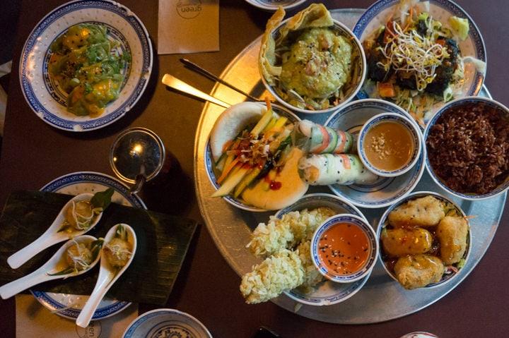 Vietnamese Tapas at 1990 Vegan Living