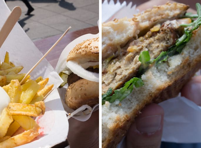 Vegan in Berlin - Yellow Sunshine Burger | ElephantasticVegan.com