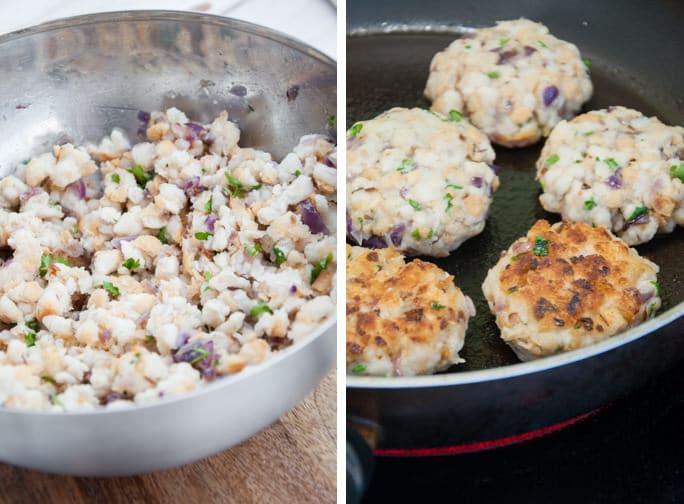 Pan-Fried Bread Dumplings   ElephantasticVegan.com