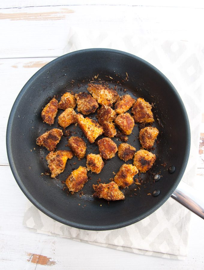 Vegan Pumpkin Nuggets | ElephantasticVegan.com