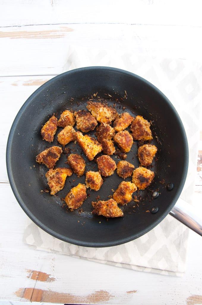 Vegan Pumpkin Nuggets |ElephantasticVegan.com