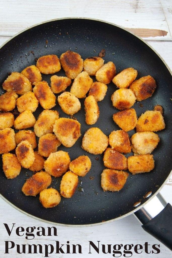 Vegan Pumpkin Nuggets