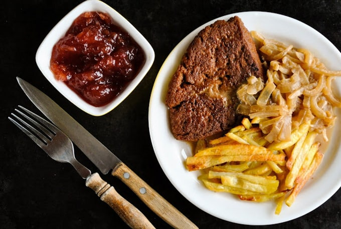 Perfect Homemade Seitan Steaks - Vegan Sandra