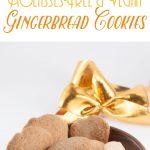 Molasses-Free Vegan Gingerbread Cookies   ElephantasticVegan.com