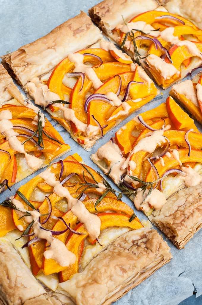 Savory Pumpkin Tart - Vegan Family Recipes