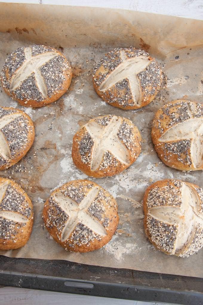 Recipe for vegan, homemade Pretzel Buns. Start making your own because ...