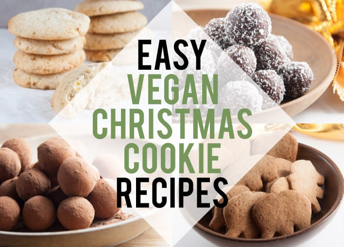 Easy Vegan Christmas Cookie Recipes | ElephantasticVegan.com