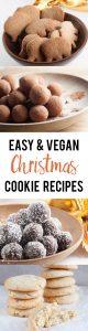 Easy Vegan Christmas Cookie Recipes   ElephantasticVegan.com
