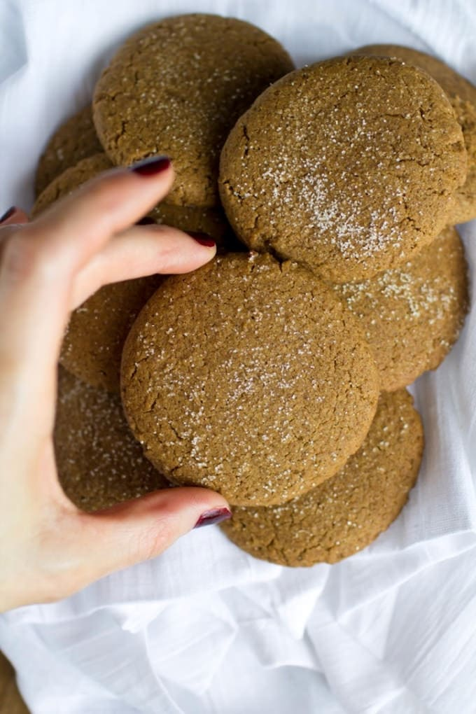 Vegan Coconut Butter Gingersnaps