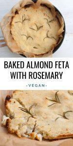 Baked Almond Feta
