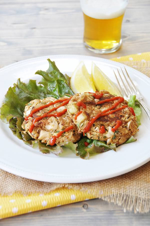 Vegan Crab Cakes Jackfruit