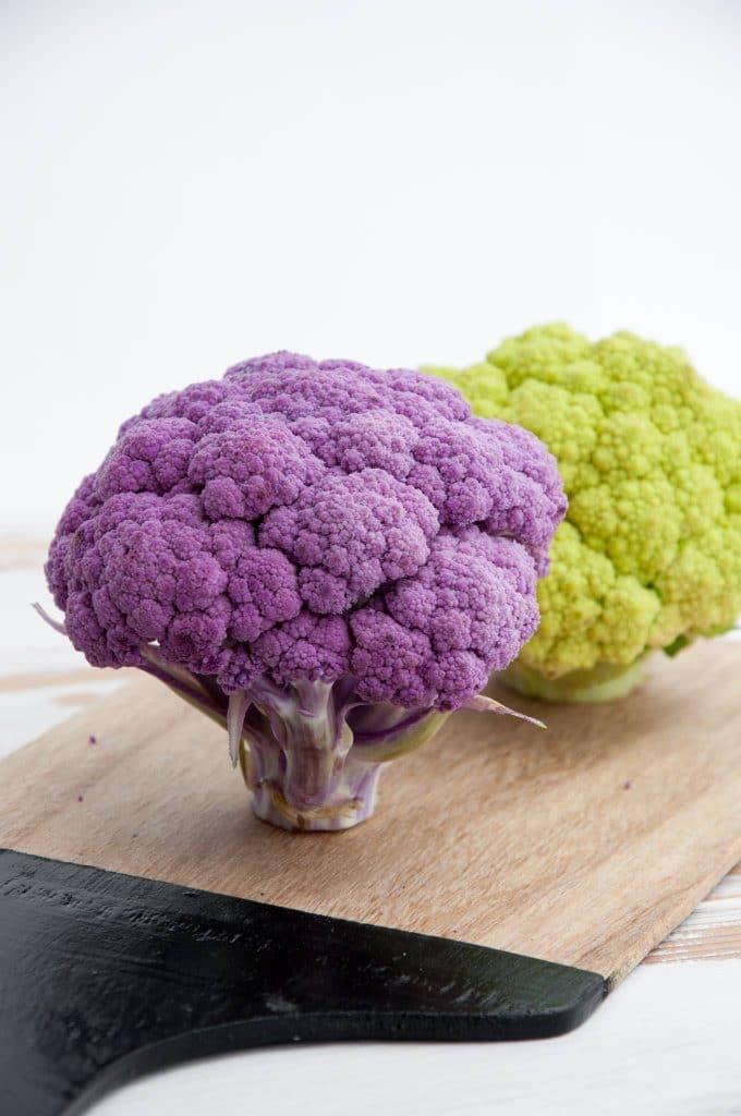 Oven-Roasted Cauliflower Rice with Za'atar Chickpeas | ElephantasticVegan.com
