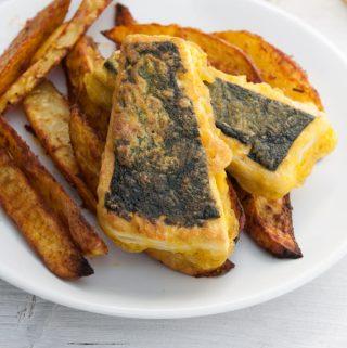 Vegan Tofish and Chips