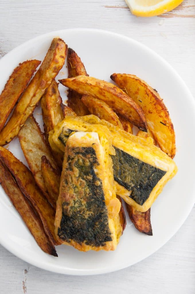 Vegan Tofish and Chips