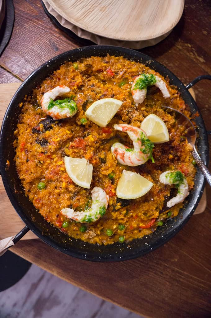 Bar-Celoneta - vegan paella